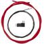 Shimano OPTISLICK vaihdekaapeli , punainen